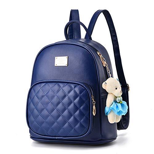 20da4d7770493 Petit Sac a dos femme en PU cuir Petit Cartable college Fashion Loisir  Mignon Mini Sac
