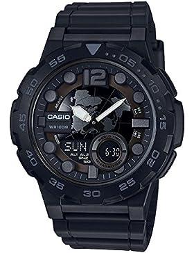 CASIO Unisex Erwachsene-Armbanduhr AEQ-100W-1BVEF