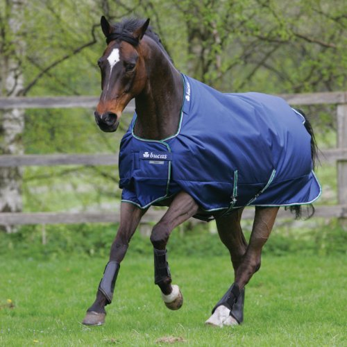 Bucas Smartex Rain Big Neck Regendecke Gr. 135 Blau