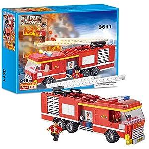 Brick Story Boys City Police Camion Polizia e Camion dei Fuochi Set Veicoli Ragazzi Regalo Blocchi costruzioni regali… 6972102978171 LEGO