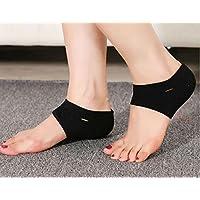 Osun 1 par de calcetines de fascitis plantar, tobillo de compresión, mangas de arco para pies, cuidado de pies para correr, caminar, senderismo, ciclismo, ...