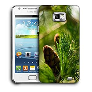 Snoogg Small Fruit Printed Protective Phone Back Case Cover for Samsung Galaxy S2/S II
