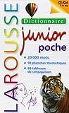 Dictionnaire Larousse junior poche - CE/CM 7-11 ans