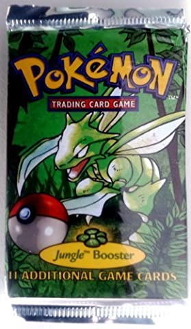 Pokemon Cards Jungle Unlimited Booster