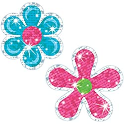 SPARKLE STICKERS FLOWER POWER