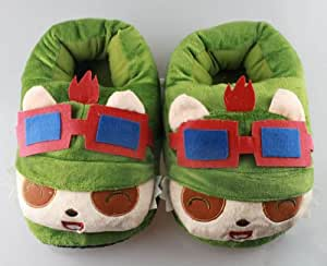 League of Legends LOL Teemo cosplay peluche Chaussures - League of Legends