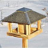 VOSS.garden Blaavand original dänisches Design Vogelfutterhaus Vogelhäuschen Futterhaus Vogelstation