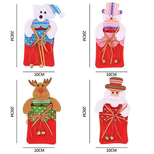 Cellophantüten mit Bindebändern Weihnachtsbaumanhänger Weihnachtsgeschenk Aufbewahrungstüte Gestreifte Süßigkeitstüten Klare Plastiktüten für die Geburtstagsfeier von Hochzeitsbabys
