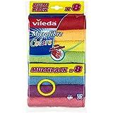 Vileda Microfaser Allzwecktuch Colors, Multipack 1x8er