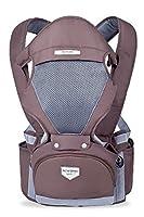 Atmungsaktive Babytrage Tragetuch und -rucksack 3 in 1 mit einem Sitz Rucksack mit Taillenunterstützung Baby Tragesitz und -gurt
