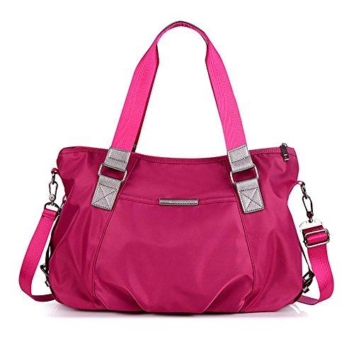 LINGE-MS Messenger borsa tela baodan spalla-lanciato massa tempo libero Oxford , rose red rose red