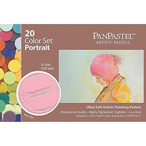PanPastel PP30203 Ultra Soft Pastel Painting Set - Portrait