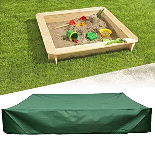 EqWong Gartenmöbel Abdeckung, Wasserdichtes Kinderspielzeug Sandkästen Abdeckung für Sitzgruppe Staubabdeckung, Atmungsaktives Schutzhülle für Sitzgarnituren, Gartentische und Möbelsets