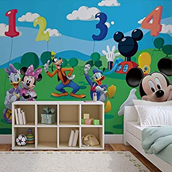 Disney Mickey Mouse   Photo Wallpaper   Wall Mural   EasyInstall Paper    Giant Wall Poster Great Ideas