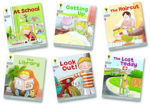 Oxford Reading Tree Biff, Chip and Kipper Level 1. Wordless Stories A: Mixed Pack of 6