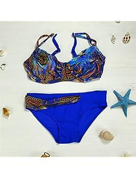 Presidente split _ en traje de baño moderno y cómodo Bikini Moda, split bañador, el color de la imagen ,M