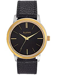 Austere Embassy Analog Black Dial Men's Watch - Meb-0202GS