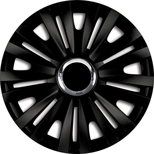 ZentimeX Z732053 Radkappen Radzierblenden universal 16 Zoll black
