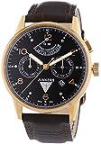 Junkers Herren-Armbanduhr XL G 38 Analog Automatik Leder 69645