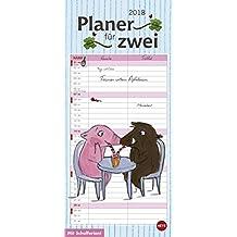 Rosalie & Trüffel Planer für zwei - Kalender 2018