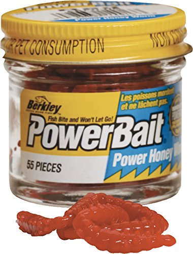 Berkley Powerbait Power Honey Worms Farbe RotInhalt ca. 55 Stück
