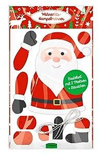 Oetinger Verlag Maravillosos de Navidad: Juego de Manualidades con 2 Motivos + Cintas.