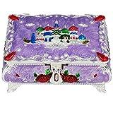 mookaitedecor Schmuckschatullen Damen Dekorative, Vintage Trinket Box zur Aufbewahrung Halsketten Ohrringe socken Accessoires für Frauen Mädchen