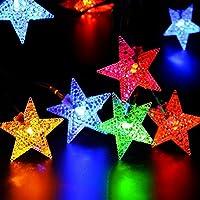 NNIUK 40 LED stella luci leggiadramente della stringa a pile per la festa di Natale giardino decorazione di Halloween. - Guardare La Finestra Sul Cortile