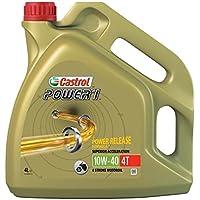 Castrol Power 1 Aceite de Motores 10W-40 4T 4L (Sello inglés)