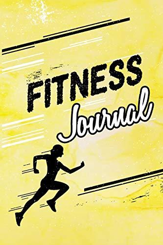 Fitness Journal: Workout Lined Notebook V6 por Dartan Creations