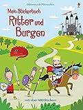 Mein Stickerbuch: Ritter und Burgen - Lucy Bowman