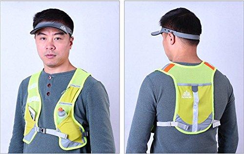 Imagen de aonijie  senderismo  hidratación maratón macho ligero chaleco escalada ciclismo , verde alternativa