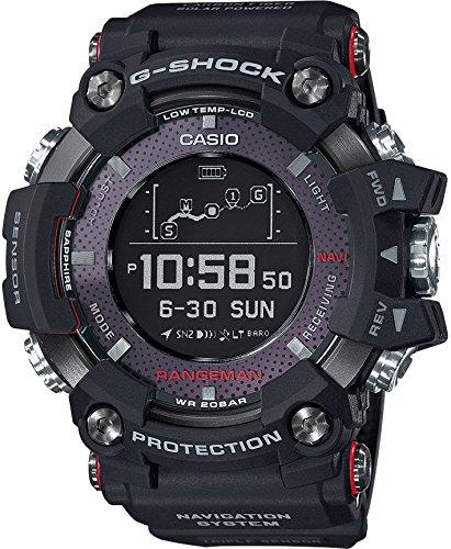 Casio Hommes Digital Quartz Montre avec Bracelet en Résine GPR-B1000-1ER