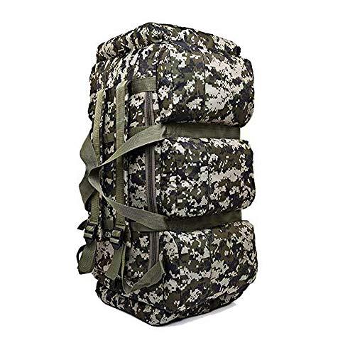 90L Outdoor Camping Wandern Tasche, Männer und Frauen Rucksack Reisetasche, große Kapazität bewegen Reisetasche, Zelt Tasche Taktische Berg Reise Rucksack ZDDAB