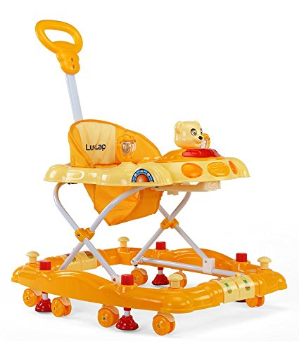 LuvLap 18123/920B Baby Walker Comfy (Yellow)