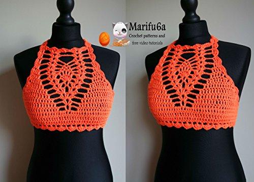 orange halter top all sizes: orange halter top all sizes (English Edition) Orange-halter