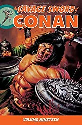 Savage Sword of Conan Volume 19 by Various (2015-06-09)
