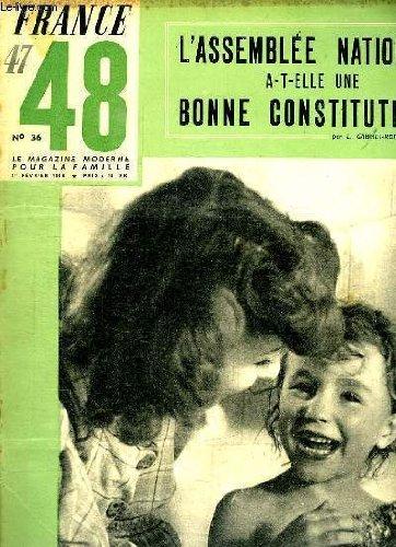 FRANCE 47 - 48 LE MAGAZINE MODERNE DE LA...