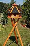 Vogelhaus von klein bis Riesig XXL Futterhaus Futterhäuschen Vogelvilla V18, Vogelfutterhaus aus Holz