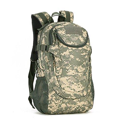YAAGLE 20L 25L Freizeit Rucksack wasserdicht outdoor Gepäck Reisetasche Bersteigen Taschen Schultasche Laotoptasche Tarnung 2