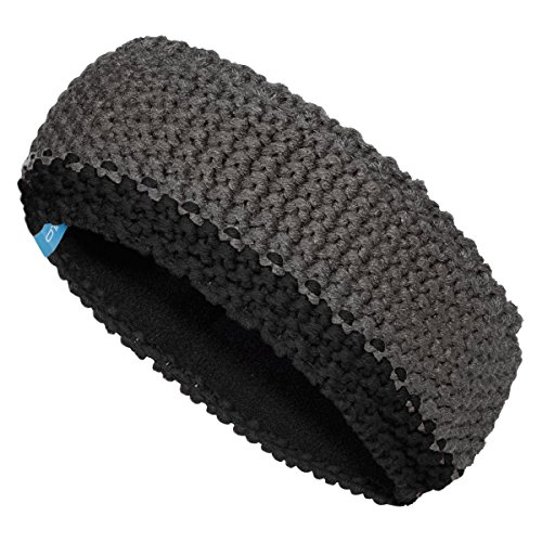 Odlo Chunky Knit Headband - odlo steel grey-black (Hat Knit Nordic)
