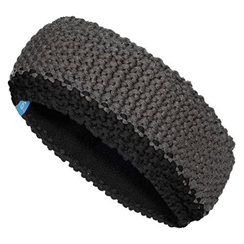 Odlo Chunky Knit Headband - odlo steel grey-black (Knit Hat Nordic)
