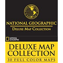 National Geographic Deluxe Map Collection: 30 Full Color Maps