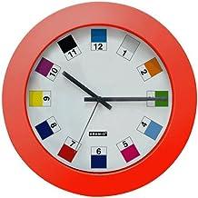 Orologio basic red pantone 26 cm
