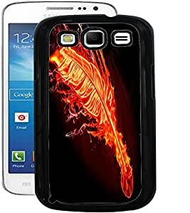 ColourCraft Flaming Feather Design Back Case Cover for SAMSUNG GALAXY S3 I9300 / I9305