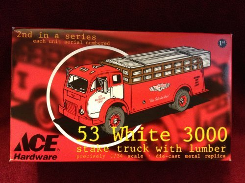 ace-hardware-53-white-3000-stake-truck-with-lumber-134-scale-die-cast-replica-truck