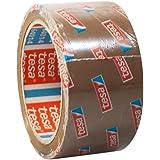 tesa 64014 Plakband, verpakkingstape 66 m x 50 mm (12 rollen, bruin)