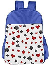 Preisvergleich für Lovely Schoolbag Lucky Gambler Poker Children School Backpack Carry Bag for Kids Boy Girl