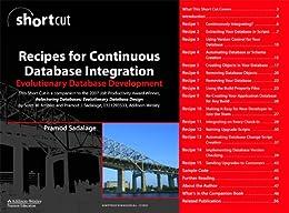 Recipes for Continuous Database Integration von [Sadalage, Pramod J.]
