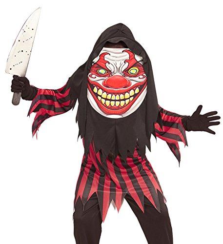 Panelize Halloween-Kostüm Horrorclown Gruselclown Geist Gespenst 11-14 - Kostüme Horrorclown